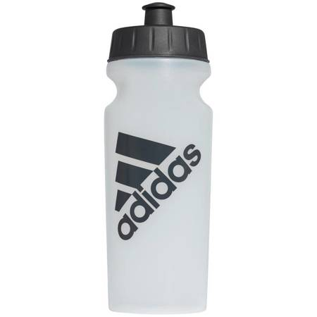 Bidon adidas Performance Bottle 500ml biało czarny CD6280