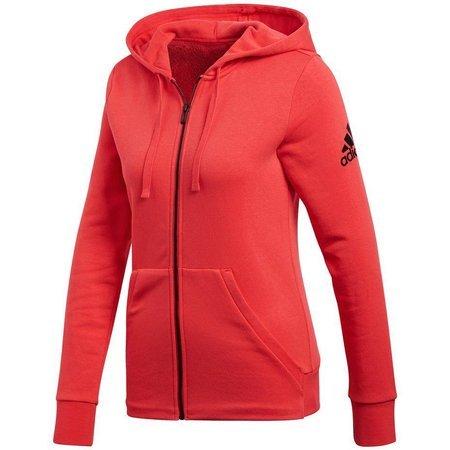 Bluza adidas Essentials Solid Fullzip Hoodie czerwona CD7804