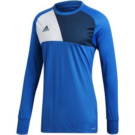 Bluza bramkarska dla dzieci adidas Assita 17 GK JUNIOR niebieska AZ5399/AZ5404