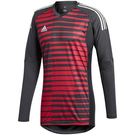 Bluza bramkarska męska adidas AdiPro 18 GK LS czerwono-czarna CF6173