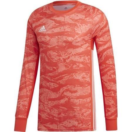 Bluza bramkarska męska adidas AdiPro 19 GK LS czerwona DP3136