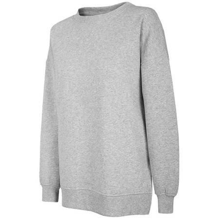 Bluza damska 4F chłodny jasny szary H4Z20 BLD011 27M