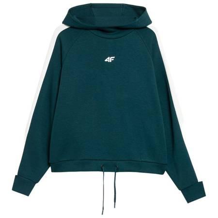 Bluza damska 4F ciemna zieleń H4Z21 BLD018 40S