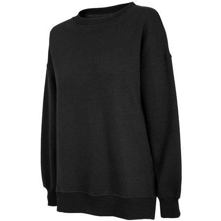 Bluza damska 4F głęboka czerń H4Z20 BLD011 20S
