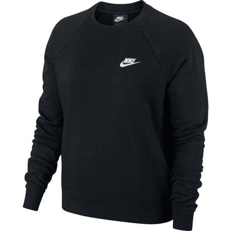 Bluza damska Nike Essentials Crew FLC czarna BV4110 010
