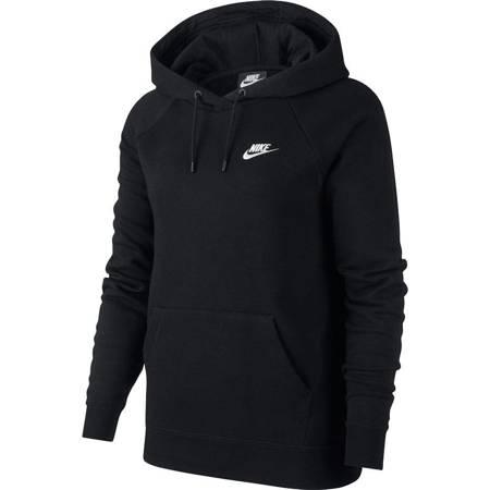 Bluza damska Nike Essentials Hoodie Po Flc czarna BV4124 010