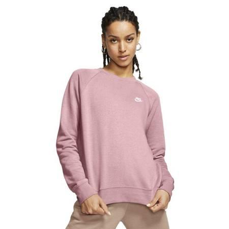 Bluza damska Nike NSW Essentials Flecee Crew różowa BV4110 632