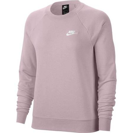 Bluza damska Nike NSW Essntl Flc Crew różowa BV4110 645