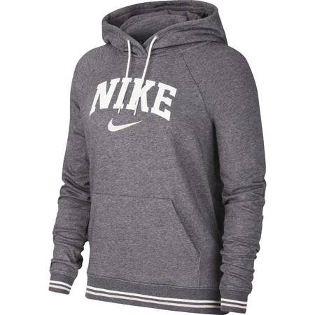 Bluza damska Nike W Hoodie FLC Vrsty szara BV3973 071