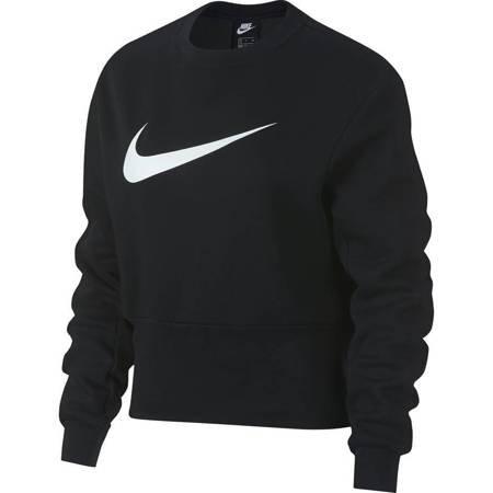 Bluza damska Nike W Swoosh Crew czarna 932130 010
