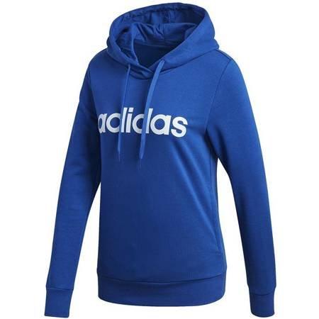 Bluza damska adidas Essentials Linear Hoodie niebieska  GD2961