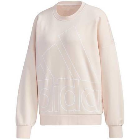 Bluza damska adidas Favourites Big Logo Sweet brzoskwiniowa GK0616