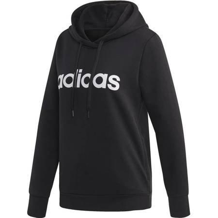 Bluza damska adidas W Essentials Linear OH HD czarna DP2403