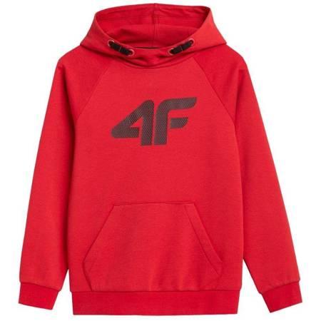 Bluza dla chłopca 4F czerwona HJZ21 JBLM001B 62S