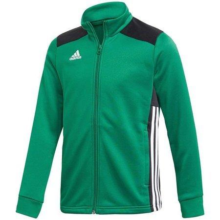 Bluza dla dzieci adidas Regista 18 Polyester Jacket JUNIOR zielona DJ2176