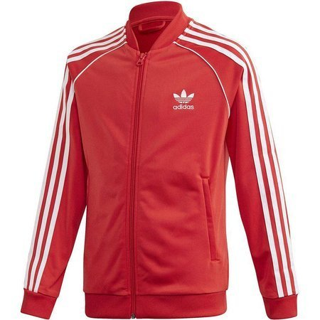 Bluza dla dzieci adidas Superstar Top czerwona FM5662