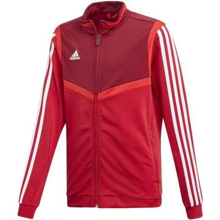 Bluza dla dzieci adidas Tiro 19 Polyester Jacket JUNIOR czerwona D95942