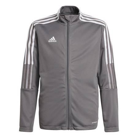 Bluza dla dzieci adidas Tiro 21 Track szara GM7311
