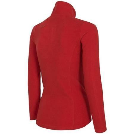 Bluza polarowa damska 4F czerwona H4Z19 BIDP001 62S