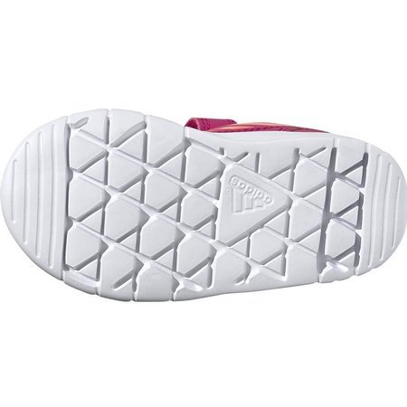 Buty dla dzieci adidas AltaSport CF I różowo pomarańczowe G27106