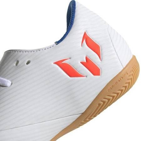 Buty piłkarskie adidas Nemeziz Messi 19.4 IN biało czerwone F34550
