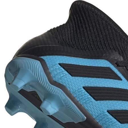 Buty piłkarskie adidas Predator 19.1 FG JUNIOR niebiesko czarne G25792