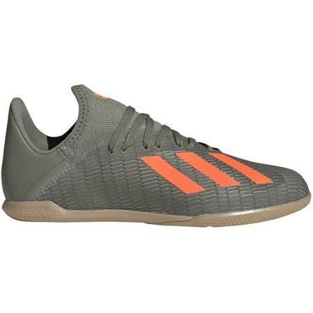 Buty piłkarskie adidas X 19.3 IN JUNIOR zielone EF8376