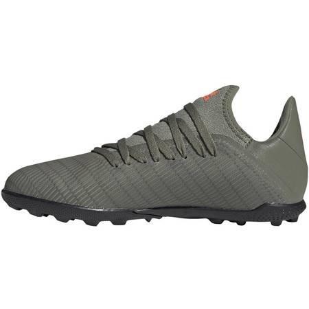 Buty piłkarskie adidas X 19.3 TF JR zielone EF8375