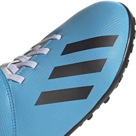 Buty piłkarskie adidas X 19.4 H&L TF JUNIOR niebieskie EF9126