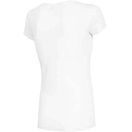 Koszulka damska 4F biała H4Z19 TSD001 10S