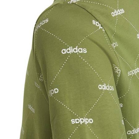 Koszulka dla dzieci adidas YB Core Favourites Tee zielona FJ5421