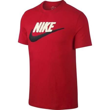Koszulka męska Nike Brand Mark czerwona AR4993 657