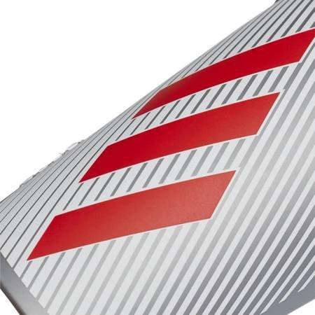 Ochraniacze piłkarskie adidas X Lite szaro czerwone DY2576