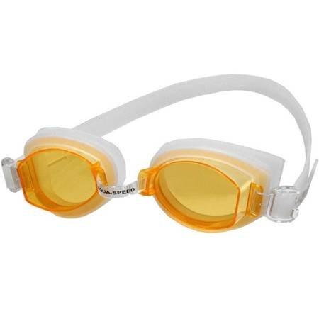 Okulary pływackie Aqua-Speed Asti pomarańczowe kol.14