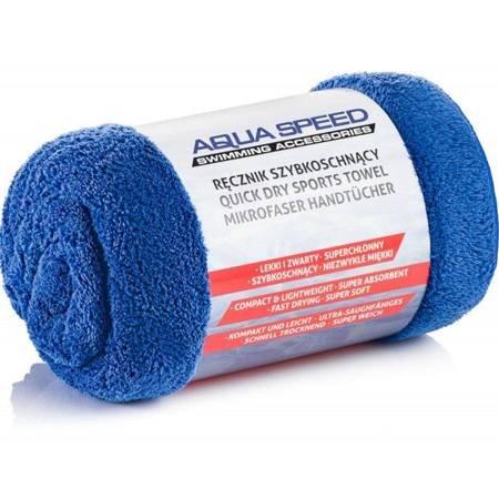 Ręcznik Aqua-speed Dry Coral 350g 70x140 niebieski 01/157