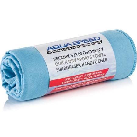 Ręcznik Aqua-speed Dry Flat 200g 70x140 jasny niebieski 02/155