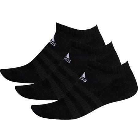 Skarpety adidas Cushioned Low 3PP czarne DZ9385