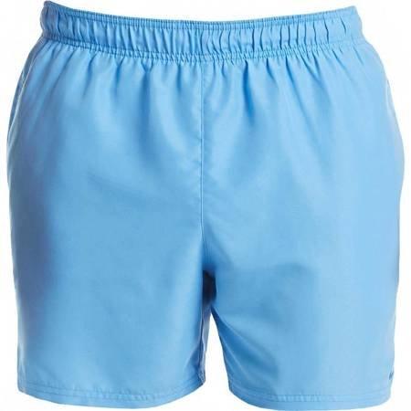 Spodenki kąpielowe męskie Nike Solid niebieskie NESS9502 438
