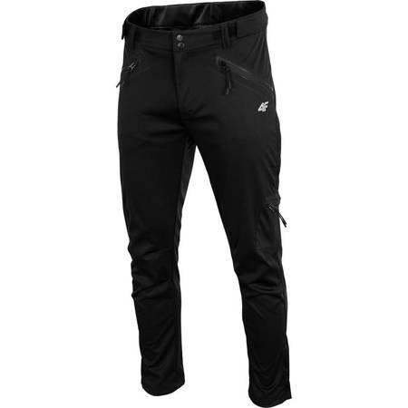 Spodnie męskie 4F głęboka czerń H4Z19 SPMT001A 20S