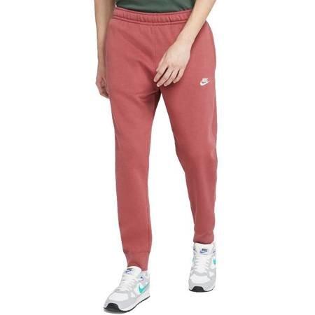Spodnie męskie Nike Club Jogger czerwone BV2671 661