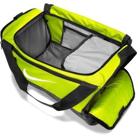 Torba Nike Brasilia S Duffel 9.0 limonkowa BA5957 702