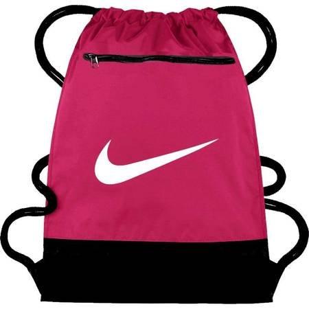Worek na buty Nike Brasilia 9.0 różowy BA5953 666